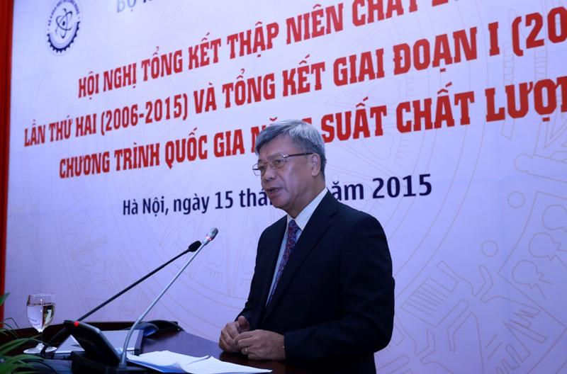 Thứ trưởng Trần Việt Thanh phát biểu tại Hội nghị.