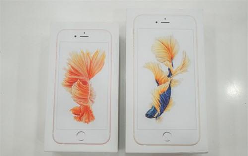 Cận cảnh iPhone 6S màu hồng đầu tiên tại TP.HCM - ảnh 1
