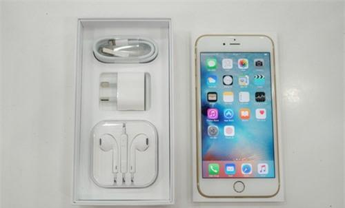 Cận cảnh iPhone 6S màu hồng đầu tiên tại TP.HCM - ảnh 2