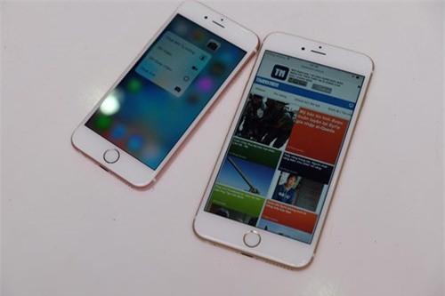 Cận cảnh iPhone 6S màu hồng đầu tiên tại TP.HCM - ảnh 8