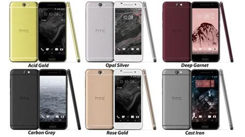 HTC Aero sẽ xuất hiện với 6 kiểu màu sắc khác nhau - Ảnh chụp màn hình