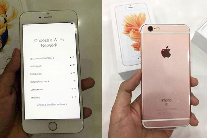 Những chiếc iPhone 6S đầu tiên về Việt Nam. (Nguồn: Lạc Huy/CellphoneS)