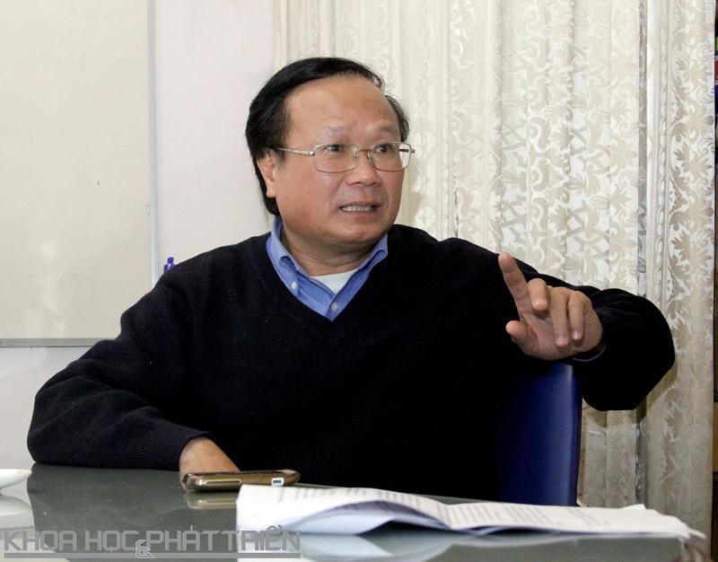 PGS-TS Lê Bắc Huỳnh. Ảnh: T.A