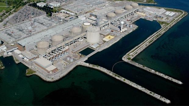 Một nhà máy điện hạt nhân ở Ontario, Canada.