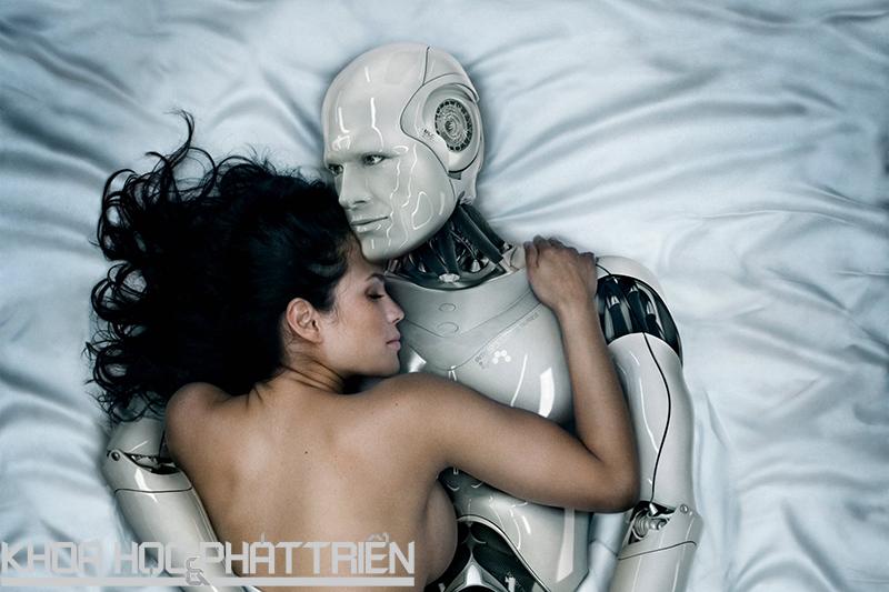 Sex trong những năm 2050: Nhiều yếu tố robot, ít yếu tố con người. Ảnh: The daily beast