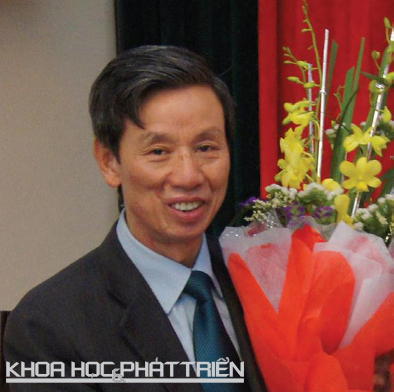 TS Phạm Văn Lực - Chủ tịch hội đồng khoa học Bảo tàng thiên nhiên Việt Nam.