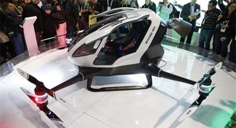 TQ chế tạo máy bay không người lái chở người đầu tiên trên thế giới - 1