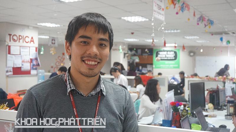Ông Nguyễn Khôi - PGĐ Topica Pedia Việt Nam. Ảnh: Thái Cơ