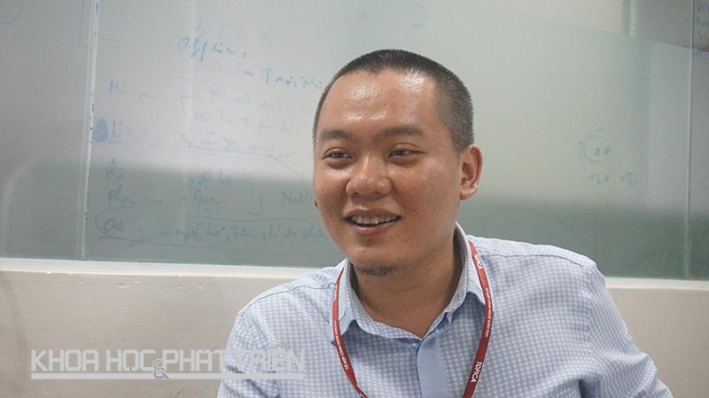 Ông Dương Hữu Quang - CEO Topica Native. Ảnh: Thái Cơ