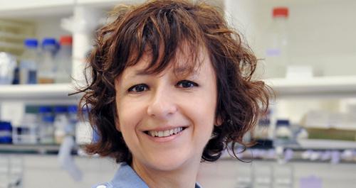 Nhà nghiên cứu sinh học và di truyền Emmanuelle Charpentier.