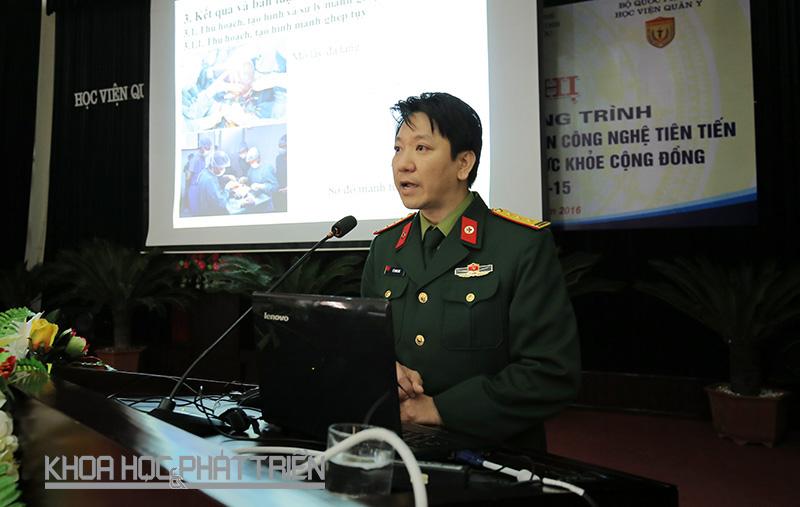TS Lê Thanh Sơn. Ảnh: Lê Loan