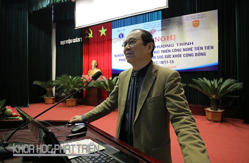 GS Lê Bách Quang. Ảnh: Lê Loan.