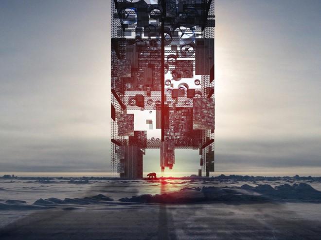 Ý tưởng về một nhà kính khổng lồ là giải pháp triệt để cho tình trạng biến đổi khí hậu. Tòa nhà này cũng sản sinh năng lượng tái tạo, kể cả khi hấp thu khí nóng từ bề mặt trái đất.