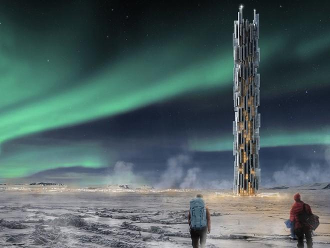 Hiện nay, các trung tâm dữ liệu tiêu tốn rất nhiều năng lượng và luôn cần được làm mát. Giải pháp được đưa ra là xây dựng trung tâm dữ liệu ở một nơi lạnh giá, như Iceland. Và công trình này chính là giải pháp hoàn hảo. Thiết kế của công trình cũng nói lên ý nghĩa như một bảng mạch chủ của nó.