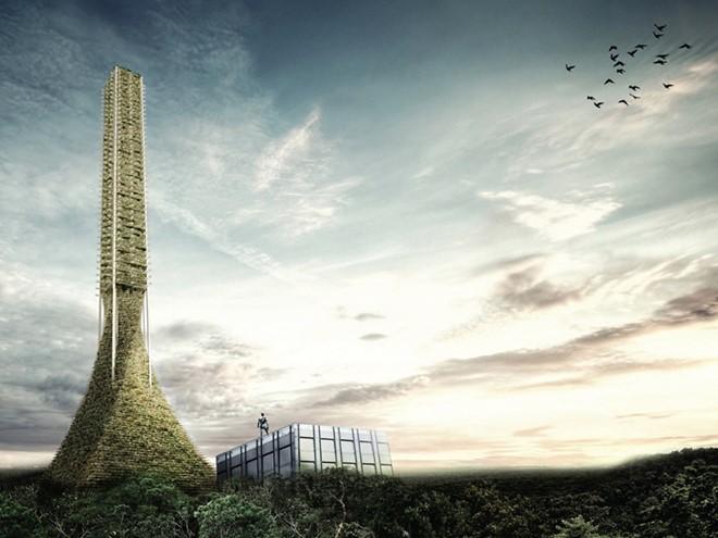 Babel được thiết kế cho tương lai khi các nguồn tài nguyên cạn kiệt và những công trình tiên tiến như thế này sẽ cung cấp cả thức ăn và không gian sống cho con người.