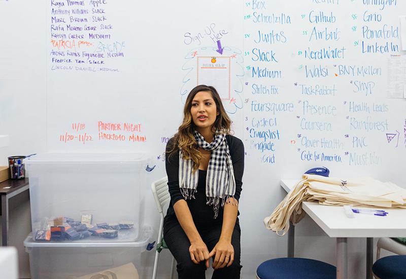 Nathalie Miller - cô gái lai - đã phải từ bỏ giấc mơ khởi nghiệp tại thung lũng Silicon. Ảnh: NYT