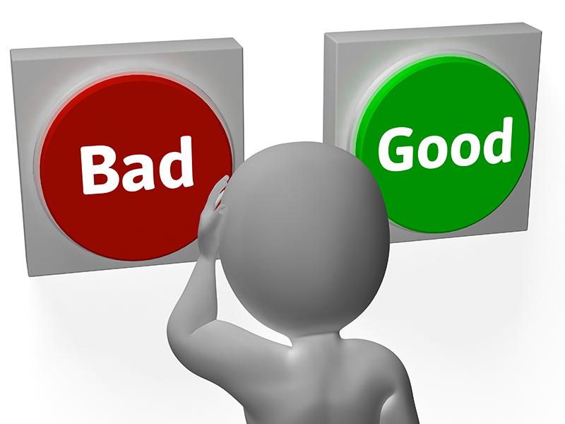 Lựa chọn tốt hay xấu luôn là vấn đề nan giải. Ảnh: kennethgmcleod.com