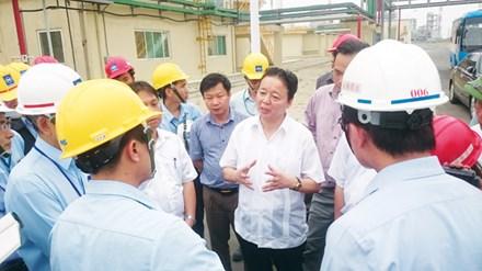 Bộ trưởng TN&MT Trần Hồng Hà chỉ đạo công tác phối hợp xử lý hệ thống xả thải của Formosa Hà Tĩnh.