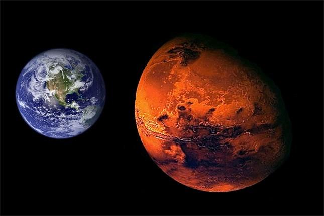 Kết quả hình ảnh cho Sao Hỏa thường được gọi là Hành tinh đỏ