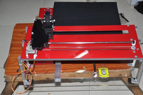 Máy cắt lazer nghệ thuật Ảnh: NVCC