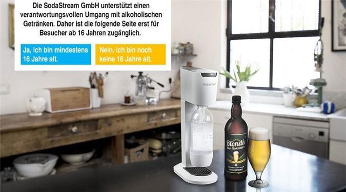 Chiếc máy làm bia Beer Bar chỉ được bán tại Đức và Switzerland.