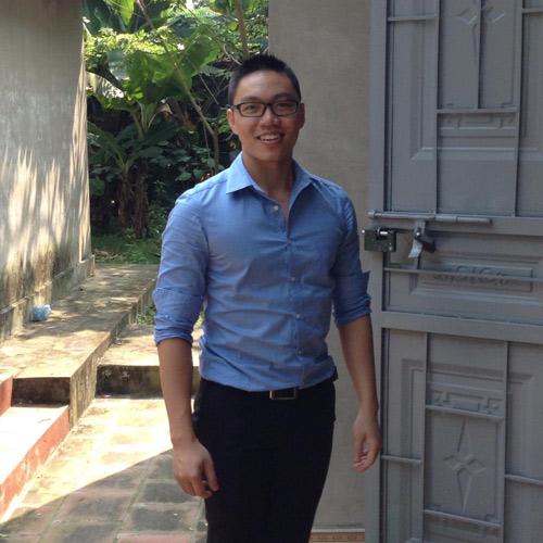 Tùng Khánh – người đầu tiên nảy ra ý tưởng về Check-it Ảnh: NVCC