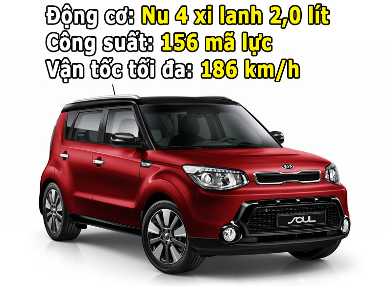 Cận cảnh KIA Soul giá 775 triệu VNĐ tại Việt Nam 1