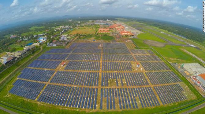 Chi phí dự án nhà máy năng lượng mặt trời khoảng 620 triệu rupee (9,3 triệu USD)