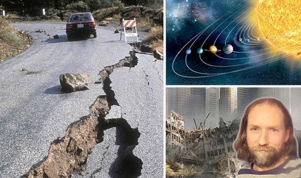Nhà khoa học người Hà Lan đã cảnh báo về một đợt động đất liên hoàn diễn ra từ ngày 20/8 đến 4/9. Ảnh: Express