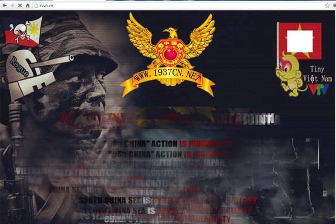 Trang Sinh viên Việt Nam bị tin tặc tấn công.