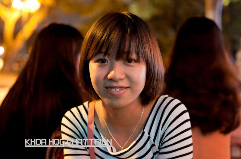 Cử nhân Đại học Mỹ thuật công nghiệp Vũ Thị Ngọc Diệp.