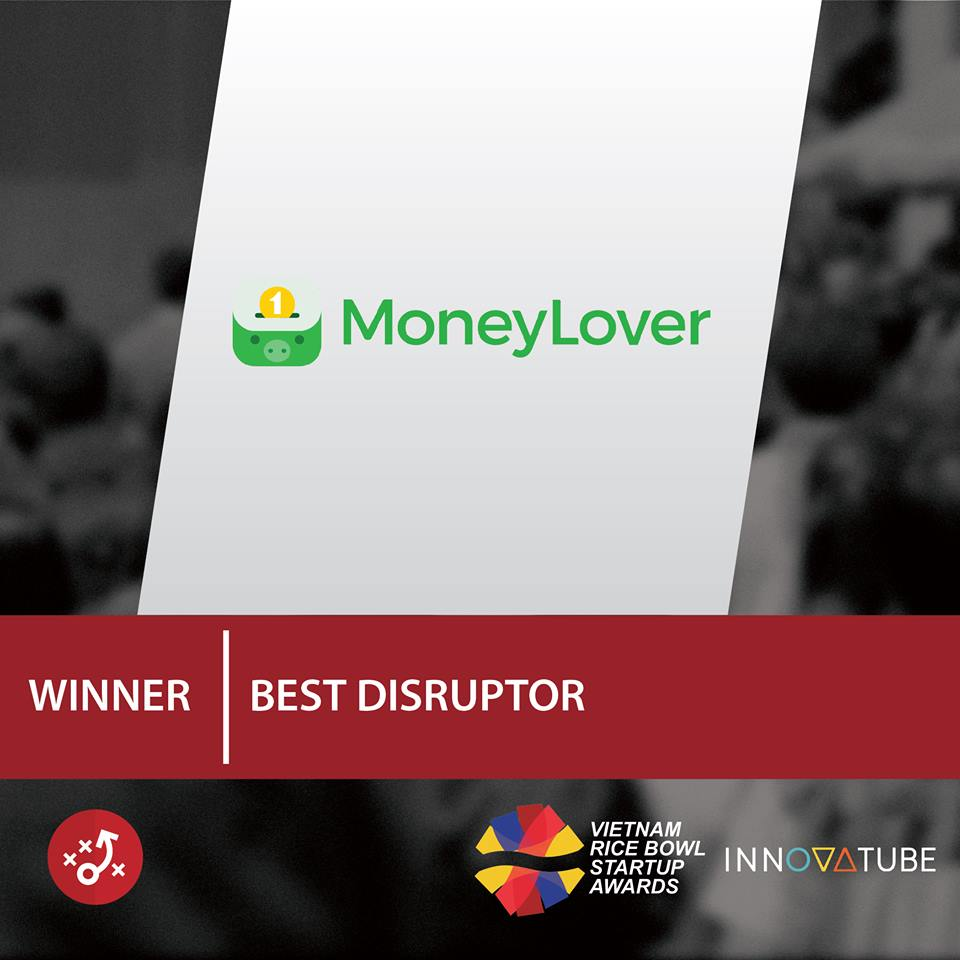 Money Lover đạt giải Hạng mục Startup đột phá của năm