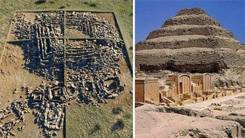 Phát hiện kim tự tháp đầu tiên trên thế giới cách đây 3000 năm - ảnh 1