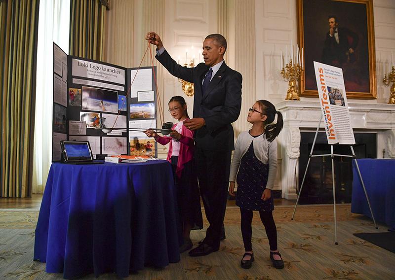 Ông Obama được đánh giá là Tổng thống Mỹ quan tâm nhiều đến khoa học. Ảnh: Timedotcom