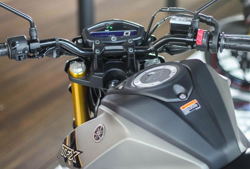 Ngắm cận cảnh xe Yamaha TFX 150 2016 mới ra mắt tại Việt Nam 10