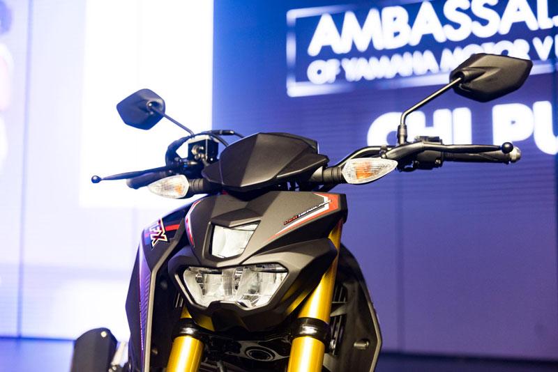 Ngắm cận cảnh xe Yamaha TFX 150 2016 mới ra mắt tại Việt Nam 7