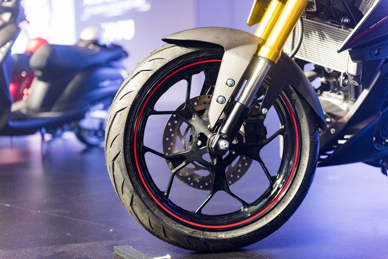 Ngắm cận cảnh xe Yamaha TFX 150 2016 mới ra mắt tại Việt Nam 16