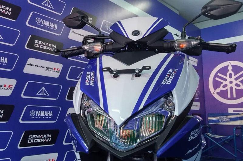 Cận cảnh xe Yamaha Aerox 125 LC mẫu tay ga giá rẻ với 31 triệu VNĐ 9