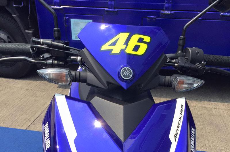 Cận cảnh xe Yamaha Aerox 125 LC mẫu tay ga giá rẻ với 31 triệu VNĐ 8