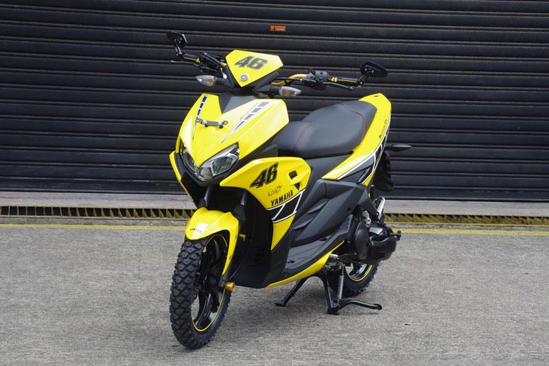 Cận cảnh xe Yamaha Aerox 125 LC mẫu tay ga giá rẻ với 31 triệu VNĐ 6