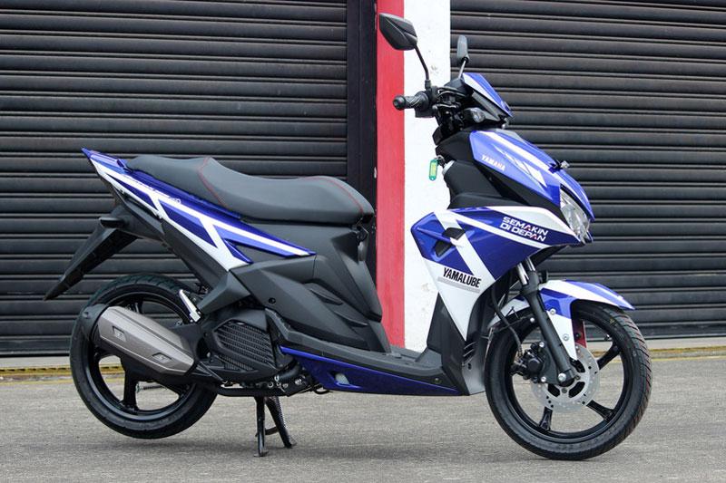 Cận cảnh xe Yamaha Aerox 125 LC mẫu tay ga giá rẻ với 31 triệu VNĐ 4