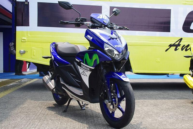 Cận cảnh xe Yamaha Aerox 125 LC mẫu tay ga giá rẻ với 31 triệu VNĐ 3