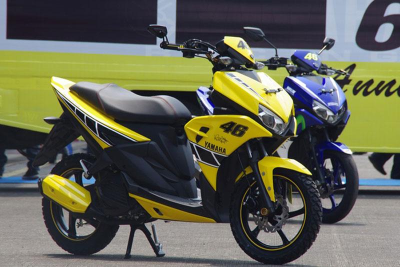 Cận cảnh xe Yamaha Aerox 125 LC mẫu tay ga giá rẻ với 31 triệu VNĐ 2