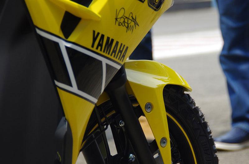 Cận cảnh xe Yamaha Aerox 125 LC mẫu tay ga giá rẻ với 31 triệu VNĐ 13