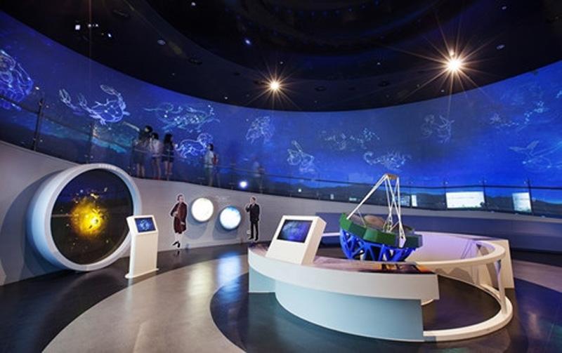 Bảo tàng vũ trụ. (Ảnh minh họa)