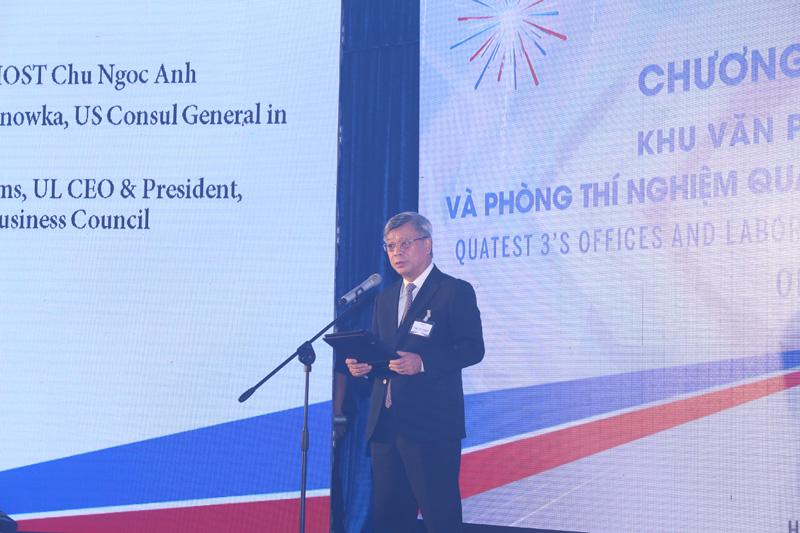 Thứ trưởng Trần Việt Thanh giao nhiệm vụ cho QUATEST3
