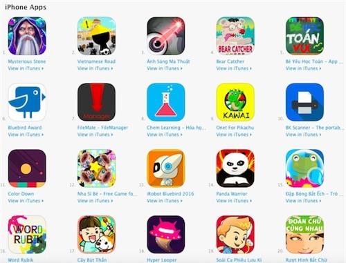 """Top 10 game, ứng dụng trong cuộc thi lập trình """"khủng"""" nhất VN - 2"""
