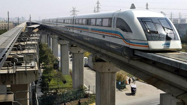 Trung Quốc đang xây thí điểm 5km đường ray để thử nghiệm