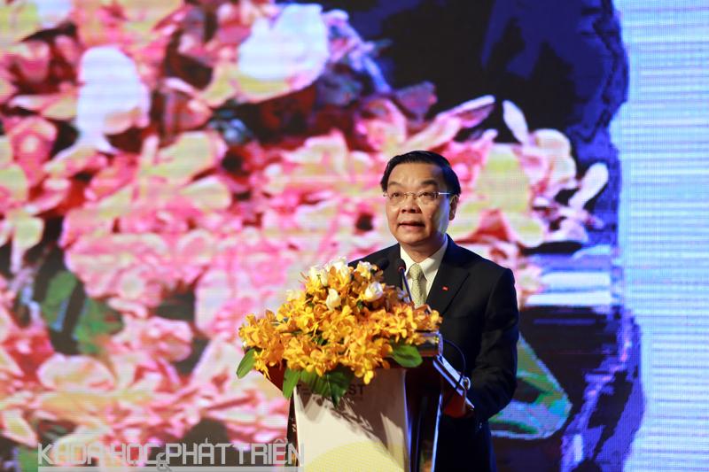 Bộ trưởng Chu Ngọc Anh phát biểu khai mạc Techfest 2016