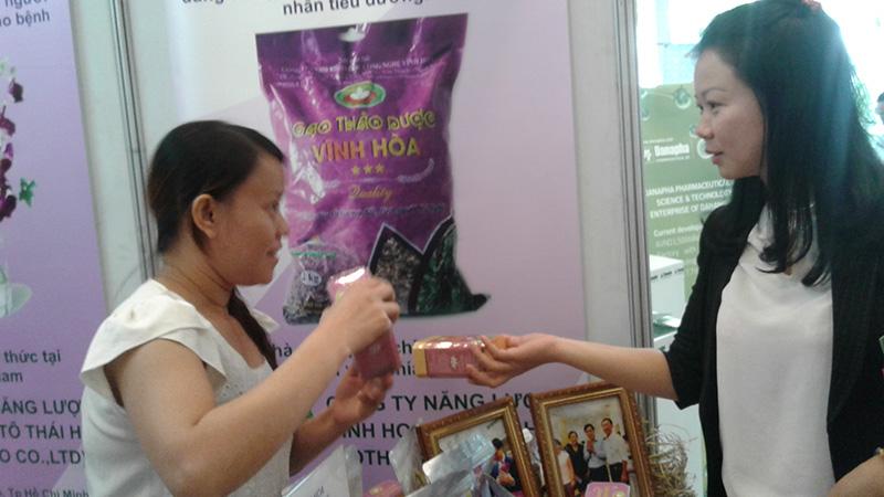 Nhiều sản phẩm từ kết quả NCKH được quan tâm.